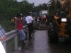 Cahuita - Bridge to Cahuita Collapses Creating a Long Delay