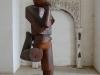 mikulov-castle-wooden-person-statue