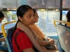 chitra-on-the-bus-in-india