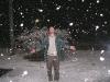 Freak Snowstorm in Troutville