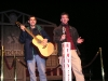 Grand Ole Opry - Mike and Adam on Opry Stage (Front)