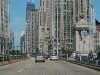 chicago-driving-over-michigan-avenue-bridge