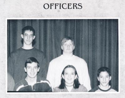 PHS German Club Officers 1998-99