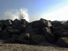 venice-beach-wave-crashes-on-rock