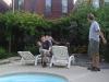 Justin and Marisa\'s backyard
