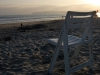 coronado-beach-chair-on-beach-at-sunset