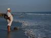 coronado-beach-man-looks-at-the-sunset