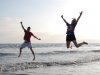 coronado-beach-mike-and-cagg-jump-in-the-ocean