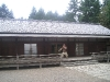 Japanese Garden - Mike Trains Outside the Dojo