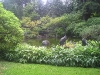 Japanese Garden - Pond with Steel Sculptures