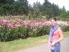 Portland Rose Garden - Cagg in the Rose Garden