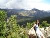 Rockies - Cagg Poses Atop Mountain