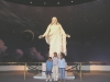 Salt Lake City - Family Poses with Jesus