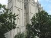 Salt Lake City - Karen in Front of the Church