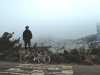 san-francisco-mike-in-front-of-city-skyline-from-hill