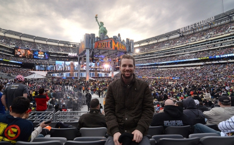 mike-at-wrestlemania-29