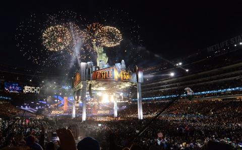 wrestlemania-29-jerichos-fireworks-entrance